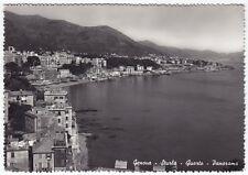 GENOVA CITTÀ 628 STURLA - QUARTO Cartolina FOTOGRAFICA VIAGGIATA 1957