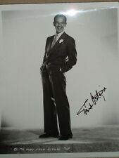 Vintage Fred Astaire hand- signed 8x10 photo