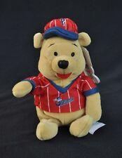 Baseball Winnie the Pooh Bear Mini Bean Bag Disney Mouseketoys Plush Bee Stomper