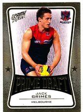 2013 AFL SELECT PRIME DRAFT GOLD Jack Grimes Melbourne  No. 042  of 145
