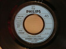 JOHNNY HALLYDAY Rock'n roll man Nadine 6837236 PROMO
