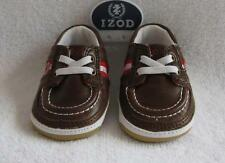 NEW IZOD Infant Boys Brown Shoes(Size 2) NEW