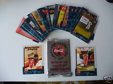 COCA-COLA COKE 95 sprint cel cards set of 50 mint RARE