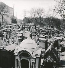 PARIS c. 1954 - Tombes  Cimetière de Montmartre- Div 10787