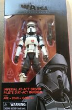 "New Star Wars Black Series Imperial At Act Driver Pilot 6"" Figure - Ships In Box"