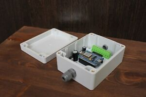 Wi-Fi control console for hamradio antena switch 8 positions (12 or 24 VDC)