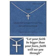 Equilibrium Sentiment Necklace Faith Jewellery Spiritual Gift Novelty