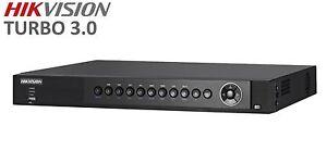 Hikvision DS-7204HUHI-F1/N Turbo HD 4 Channel DVR - HD-TVI AHD IPC - 1080p COAX