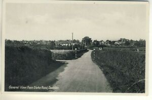 An Early Printed Post Card of General View from Stoke Road, Taunton. Somerset.