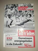PROGRAMM 1991 Relegation 1.FC Union Berlin Stahl Brandenburg DDR Oberliga FCU