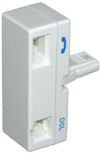 ADSL Microfiltro, Enchufe Tipo GB, Telecomunicaciones Equipment Accesorios Para