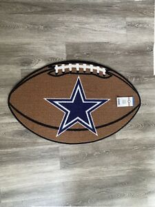 Dallas Cowboys Football Scatter Accent Rug 30 in. L x  20 in. H