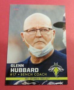 2021 Choice, Columbia Fireflies, Bench Coach - GLENN HUBBARD - West Germany