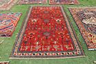 COLLECTORS' PIECE Beautiful Chela Bird Kazak Rug,Vintage Caucasian Kazak Carpet
