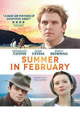 Summer in February (DVD, 2014) Dominic Cooper, Dan Stevens, Emily Browning  NEW