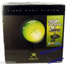 Console X-BOX 1ère génération Microsoft en boite jeu SEGA GT 2002 xbox testé