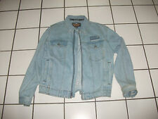Original Harley Davidson Jacke blue Jeans Jacke Jeansjacke Größe M