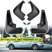 Mud Flaps For Ford Focus 2012-2018 3 Mk3 5DR Hatchback Splash Guards Mudguards