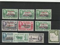 falklands & dependencies mounted mint stamps ref 16615