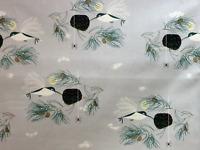 CHB71 CHARLEY HARPER Bird Architects Hummingbird Organic Cotton Quilt Fabric