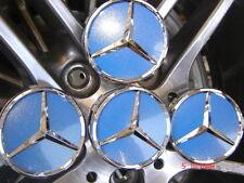 75MM FITS Mercedes Center Wheel Caps Replacement Badge A B C E G M  R S CLASS