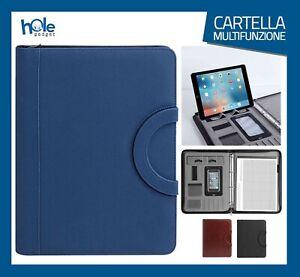 Cartella Porta documenti Cartelletta A4 Portadocumenti Borsa Porta Tablet Uomo