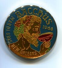 1968 1978 Bacchus Mardi Gras New Orleans LA Monarchs and Memories Token 38.3 mm
