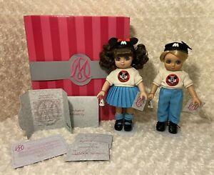 Disney Marie Osmond *Adora Belle & Beau Mouseketeer* All Original In Box!