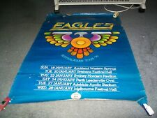 Eagles Australasian Tour Poster 1976 Original.(38 inches by 23 inches)