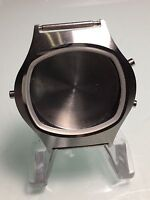 NOS MEN'S STAINLESS STEEL CHRONOGRAPH SWISS MADE WRISTWATCH FOR ETA MOVEMENT
