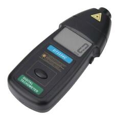 DT2234C Handheld Digital Laser Tachometer RPM Non-Contact Speed Meter