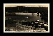 DR JIM STAMPS US TOURIST BOAT NORRIS LAKE TENNESSEE REAL PHOTO RPPC POSTCARD