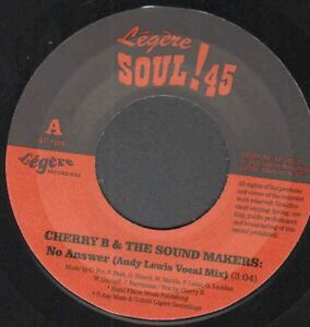 "Modern Soul Dancer Cherry B - No Answer (Andy Lewis Mix) - 7"" Single Listen!"