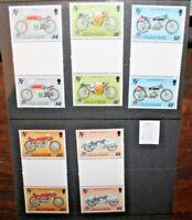 "FRANCOBOLLI ISOLA DI MAN 1987 ""MOTO TOURIST TROPHY"" NUOVI MNH** SET (CAT.W)"
