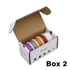 50m 30AWG Silicone Wire 5 color Mix box 2 package Electrical Wire Line Copper