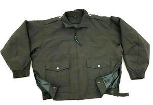 NEW Blauer Jacket Size 2XL Adult Brown Bomber Coat Men WATERPROOF WINDPROOF $170