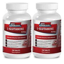 Protein Capsules - L-GLUTAMINE 500mg - Helps In The Retention Pills 2B