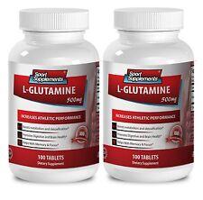 L-Glutamine Powder - L-GLUTAMINE 500mg - Boost Sexual Energy Pills 2B