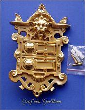 Messing Klingel Deurbel Sonnette Door Bell 2 Klingelschild Klingelplatte K33P