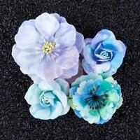 Prima Flowers AQUAMARINE Paper Flowers Blue Planner Tags 582616