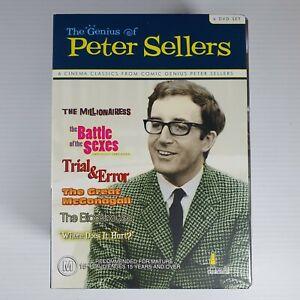 The Genius Of Peter Sellers DVD Region 4 Box Set Umbrella Entertainment