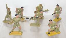 PL22 - British Plastic 8th Army Crescent and Charbens