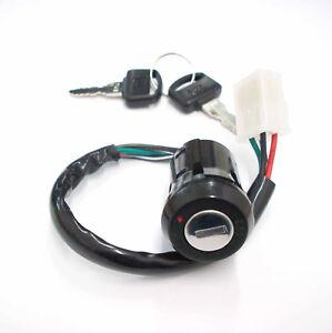 1x Zündschloss 2 Schlüssel ignition switch 2 keys Honda CB 50, CY XL 50 80 NEU