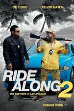 Ride Along 2 - original DS movie poster - D/S 27x40 - Advance Ice Cube , Hart