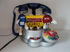 M & M Alarm Clock / A M  F M Radio / Phone - Rare