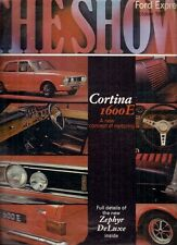 Ford Motorshow 1967 UK Market Brochure Anglia Cortina Corsair Zephyr Zodiac