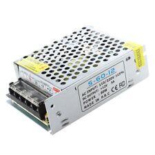 LED Transformateur Electronique Transfo 60W 5A 100-220V AC Vers 12V DC N3Y3