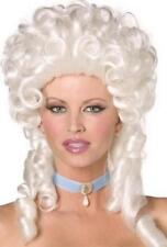 Marie Antoinette Wig French White Baroque Style Ladies Fancy Dress Curls Wig New
