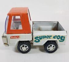 "Vintage Buddy L ""Super Dog"" Pressed Steel Metal Toy Truck 1970s 1970"