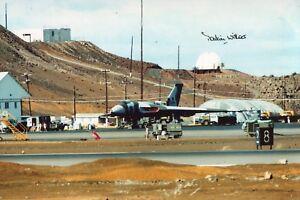 Falklands War Vulcan Bomber pilot hero Withers DFC signed BLACK BUCK ONE photo